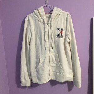 Tommy Hilfiger Sport White Logo Brand Jacket